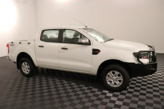 2016 Ford Ranger PX MkII XLS Double Cab Cool White 6 speed Manual Utility