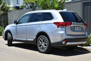 2016 Mitsubishi Outlander ZK MY17 LS 4WD Silver 6 Speed Constant Variable Wagon.