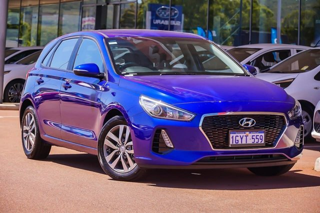 Used Hyundai i30 PD2 MY20 Active Gosnells, 2020 Hyundai i30 PD2 MY20 Active Blue 6 Speed Sports Automatic Hatchback