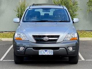 2008 Kia Sorento BL MY08 EX-L Silver 5 Speed Sports Automatic Wagon.