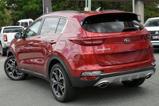 2020 Kia Sportage QL MY21 GT-Line AWD Fiery Red 6 Speed Sports Automatic Wagon.