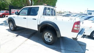 2008 Ford Ranger PJ XL Crew Cab White 5 Speed Automatic Utility