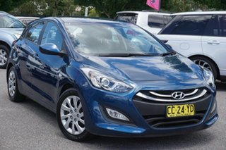 2014 Hyundai i30 GD2 Active Blue 6 Speed Sports Automatic Hatchback