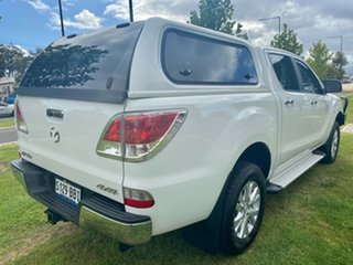 2013 Mazda BT-50 UP0YF1 XTR Cool White 6 Speed Sports Automatic Utility