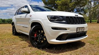 2016 Jeep Grand Cherokee WK MY16 SRT Night Edition White 8 Speed Sports Automatic Wagon.
