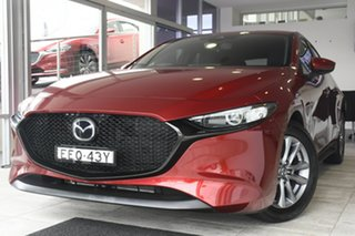 2019 Mazda 3 BP2H76 G20 SKYACTIV-MT Pure Red 6 Speed Manual Hatchback.