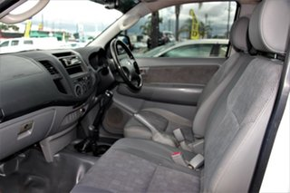 2008 Toyota Hilux GGN25R MY09 SR White 5 Speed Manual Cab Chassis