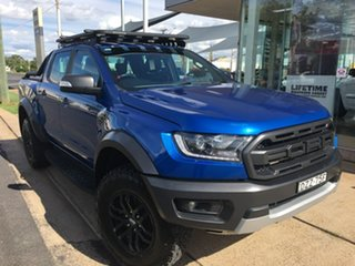 2018 Ford Ranger PX MkIII Raptor Blue Sports Automatic.