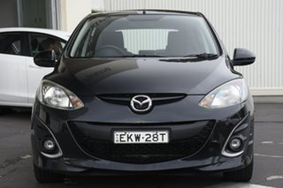 2010 Mazda 2 DE10Y1 Genki Black 5 Speed Manual Hatchback