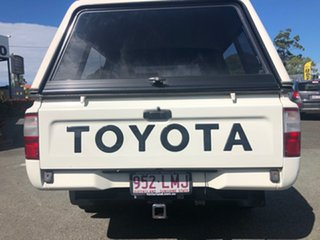 2003 Toyota Hilux RZN149R MY02 4x2 White 4 Speed Automatic Utility