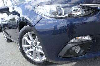 2016 Mazda 3 BM5276 Maxx SKYACTIV-MT Deep Crystal Blue 6 Speed Manual Sedan.