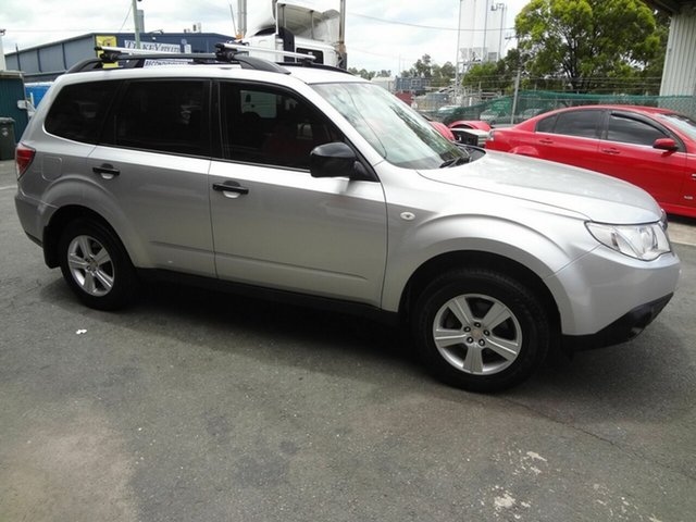Used Subaru Forester MY10 X Coopers Plains, 2011 Subaru Forester MY10 X Silver 5 Speed Manual Wagon