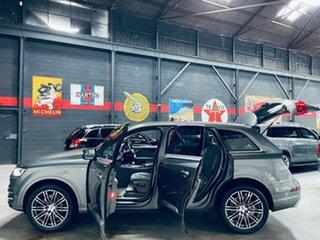 2015 Audi Q7 4M MY16 TDI Tiptronic Quattro Grey 8 Speed Sports Automatic Wagon