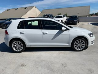 2015 Volkswagen Golf VII MY15 110TDI DSG Highline White 6 Speed Sports Automatic Dual Clutch