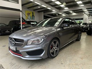 2014 Mercedes-Benz CLA-Class C117 CLA250 Sport Grey Sports Automatic Dual Clutch Coupe