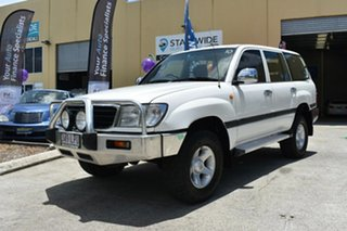 1998 Toyota Landcruiser FZJ105R GXL (4x4) White 4 Speed Automatic 4x4 Wagon.
