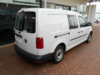 2020 Volkswagen Caddy 2KN MY20 TSI220 Crewvan Maxi DSG Candy White 7 Speed