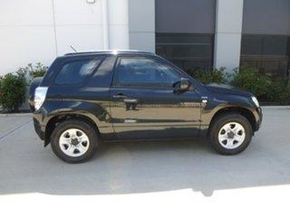 2008 Suzuki Grand Vitara JB Black Manual Hardtop.