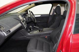 2011 Ford Falcon FG XR6 Ute Super Cab Burgundy 6 Speed Sports Automatic Utility