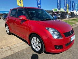 2010 Suzuki Swift RS415 RE4 Red 4 Speed Automatic Hatchback.