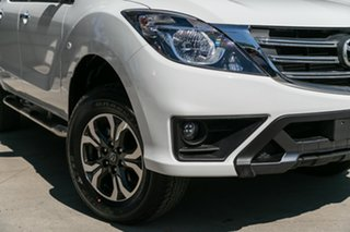 2019 Mazda BT-50 UR0YG1 XTR 4x2 Hi-Rider Cool White 6 Speed Sports Automatic Utility.