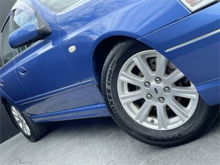 2004 Ford Falcon BA Futura Blue 4 Speed Sports Automatic Sedan