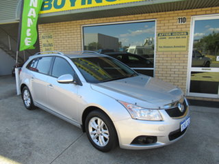 2014 Holden Cruze JH Series II CD Silver 6 Speed Automatic Wagon.
