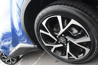 2017 Toyota C-HR NGX10R Koba S-CVT 2WD Blue 7 Speed Constant Variable Wagon