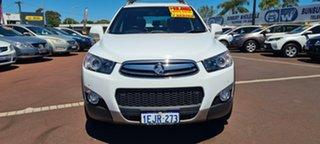 2013 Holden Captiva CG MY13 7 AWD LX White 6 Speed Sports Automatic Wagon.