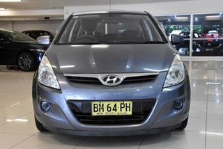 2011 Hyundai i20 PB MY11 Elite Blue 4 Speed Automatic Hatchback
