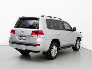 2015 Toyota Landcruiser VDJ200R MY16 VX (4x4) Silver 6 Speed Automatic Wagon