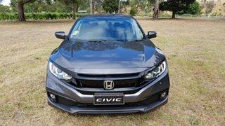 2020 Honda Civic 10th Gen MY20 VTi-S Modern Steel 1 Speed Automatic Sedan.