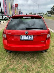 2016 Skoda Octavia NE MY17 RS DSG 162TSI Red 6 Speed Sports Automatic Dual Clutch Wagon