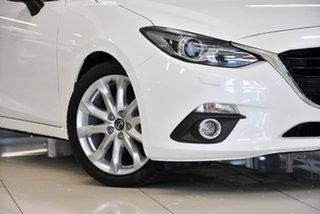 2016 Mazda 3 BM5238 SP25 SKYACTIV-Drive Astina White 6 Speed Sports Automatic Sedan