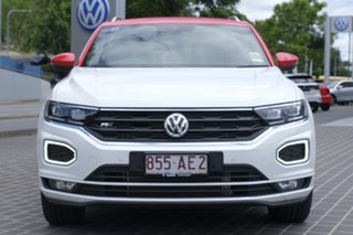 2020 Volkswagen T-ROC A1 MY20 140TSI DSG 4MOTION X Pure White 7 Speed Sports Automatic Dual Clutch.