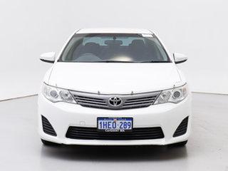 2012 Toyota Camry ASV50R Altise White 6 Speed Automatic Sedan.