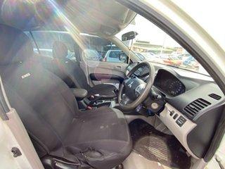 2011 Mitsubishi Triton MN MY12 GLX Double Cab 4x2 White 5 Speed Manual Utility