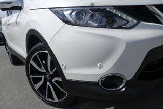 2016 Nissan Qashqai J11 TI Ivory Pearl 1 Speed Constant Variable Wagon.