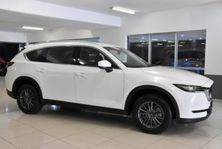 2020 Mazda CX-8 KG2WLA Sport SKYACTIV-Drive FWD White 6 Speed Sports Automatic Wagon