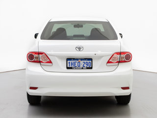 2011 Toyota Corolla ZRE152R MY11 Ascent White 4 Speed Automatic Sedan