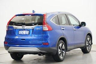 2015 Honda CR-V RM Series II MY16 VTi-L 4WD Blue 5 Speed Sports Automatic Wagon