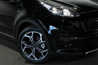 2018 Kia Sportage QL MY19 GT-Line AWD Black 8 Speed Sports Automatic Wagon.