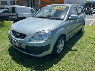 2007 Kia Rio JB MY07 EX Blue 4 Speed Automatic Hatchback.
