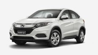 2020 Honda HR-V MY21 VTi White 1 Speed Constant Variable Hatchback