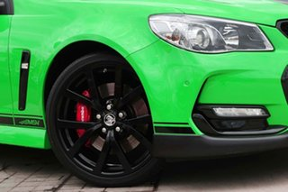 2017 Holden Commodore VF II MY17 SS V Sportwagon Redline Spitfire Green 6 Speed Sports Automatic