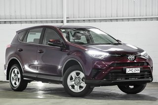 2017 Toyota RAV4 ZSA42R GX 2WD Red 7 Speed Constant Variable Wagon.