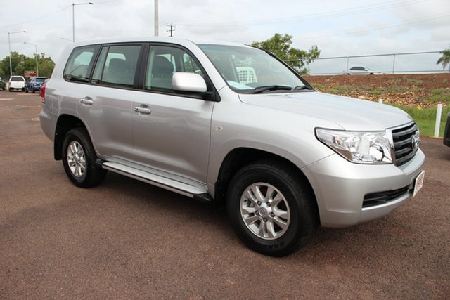 Pre-Owned Toyota Landcruiser VDJ200R MY10 GXL Darwin, 2010 Toyota Landcruiser VDJ200R MY10 GXL Silver Pearl 6 Speed Automatic Wagon
