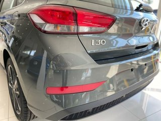2020 Hyundai i30 PD.V4 MY21 Elite Amazon Gray 6 Speed Sports Automatic Hatchback