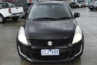 2013 Suzuki Swift FZ MY14 GL Black 4 Speed Automatic Hatchback.