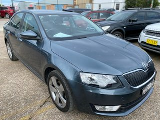 2015 Skoda Octavia NE MY16 Ambition Plus Sedan DSG 110TSI Grey 7 Speed Sports Automatic Dual Clutch.